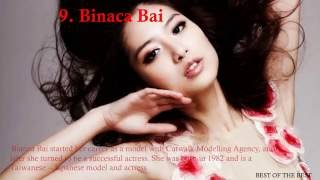Top 10 Hottest Chinese Models and Actresses 2016