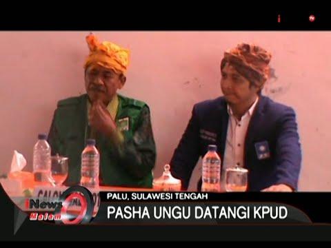 Pasha Ungu Mendaftar Sebagai Calon Walikota Palu - iNews Malam 27/07