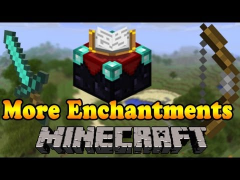 Minecraft More Enchantments [ German l 1.4.5 ] - Minecraft Mod Review (4) + Installation