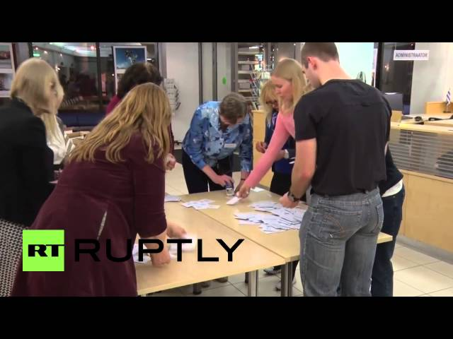 Estonia: Vote-counting begins for parliamentary elections