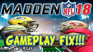 Madden 18 Gameplay Will Eliminate The #1 Community Defense