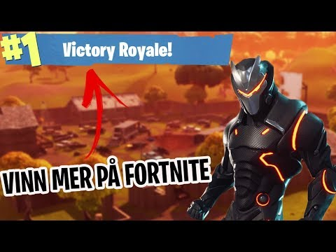 *7 NYA* TIPS FÖR ATT VINNA MER PÅ FORTNITE BATTLE ROYALE! - Fortnite Battle Royale på Svenska