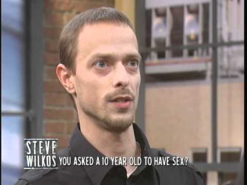 You Asked A 10 Year Old To Have Sex? (the Steve Wilkos Show) video