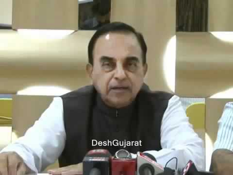 Solution to Kashmir issue as suggested by Subramanian Swamy