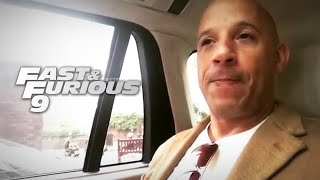 "Vin Diesel Talks ""Fast & Furious 9"" In London"