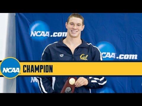 2014 Ryan Murphy Breaks NCAA Record in 200 Yard Backstroke (1:37.35)