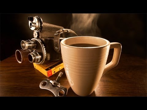 How To Photograph Steaming Coffee