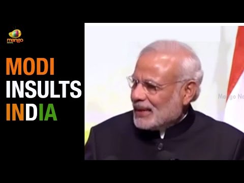 PM Modi insulting comments: People were ashamed of being Indians