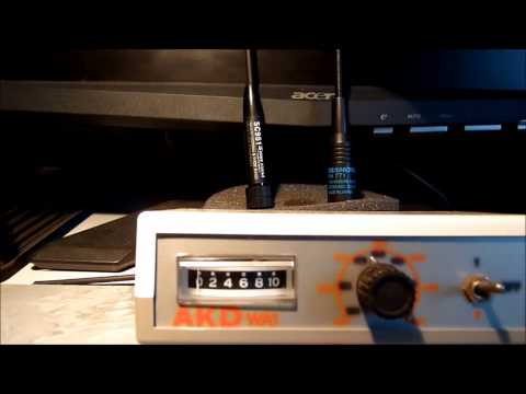AMATEUR HAM  TWO WAY RADIO ANTENNA TESTING BAOFENG YAESU ICOM QUANSHENG DIAMOND NAGOYA