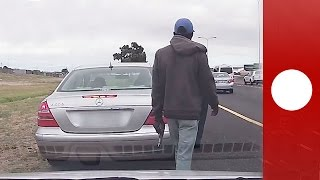 Policeman shot at point-blank rage, still issues traffic ticket, SA