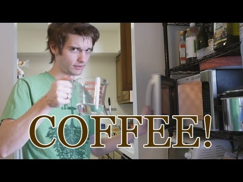 Tom Teaches How to Make a Latte in Less Than 5 Minutes - Aeropress Coffee Maker Tutorial and Review