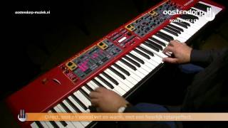 Clavia Nord Stage 2 EX | Sounddemo