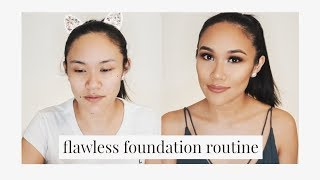 Flawless Foundation Routine 2019 | Krystal Lugtu