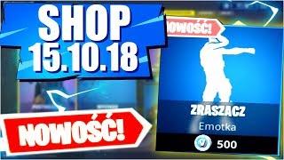 Sklep Fortnite 15.10.18 Sezon 6 |*Nowa Emotka* Zraszacz? - Daily Item shop October 15.10 - Update