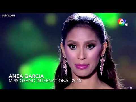 Anea Garcia - Miss Grand International. 2015