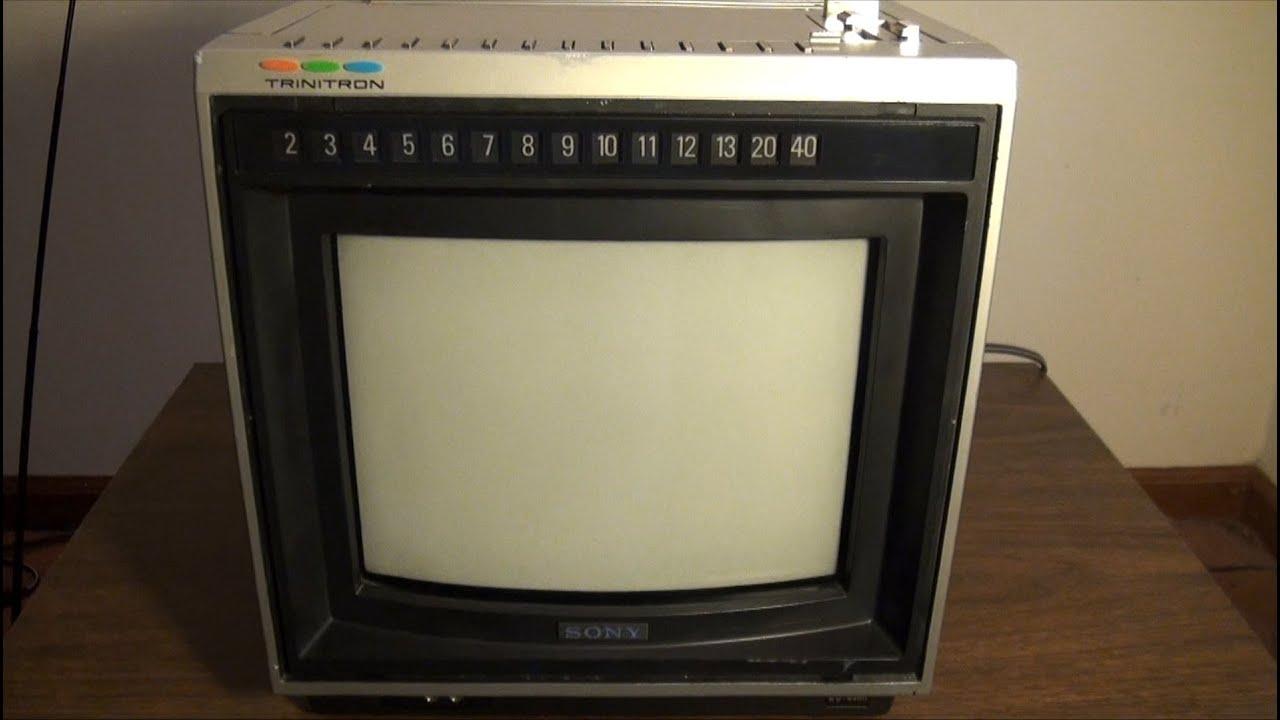 1980 Sony Trinitron Kv-9400 9 U0026quot  Color Tv