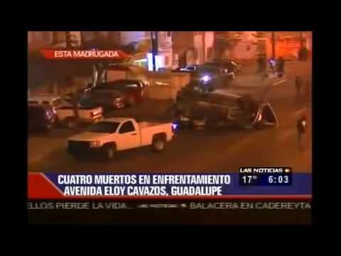 Graban Balacera en Vivo ZETAS vs Militares En Monterrey, Nuevo Leon