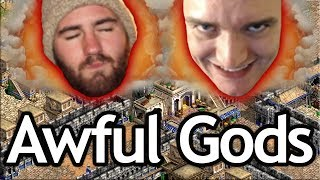 AoE2 Overlord! T90 & Dave are AWFUL Gods!