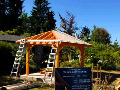 Roof System Gazebo I.mov - YouTube