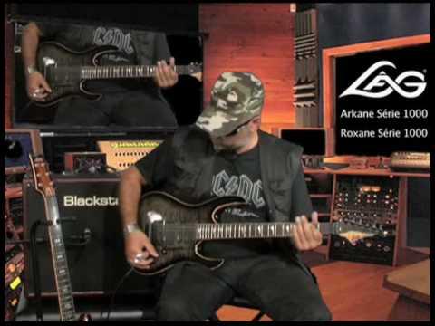 Judge Fredd & les guitares Lâg Roxane et Arkane 1000 (La Boite Noire)
