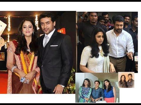 Surya and jyothika latest pics