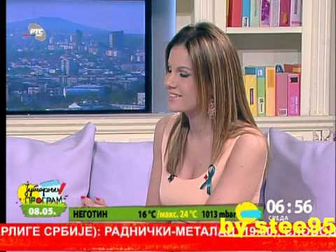 Maja Nikolic Japundza Jutarnji Rts-a .08maj video