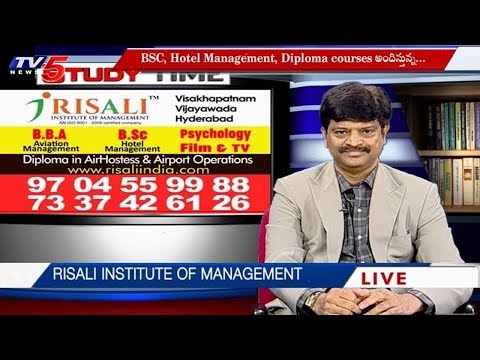 Risali Institute | BBA, Hotel Management & Diploma in Air Hostess | Study Time | TV5 News
