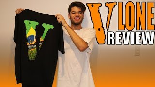 VLONE SHIRT UNBOXING & REVIEW - Brazil Staple Tee