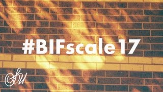 #BIFScale17 let's try Redscale