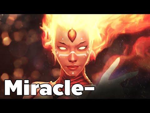 Miracle Lina Mid Rank MMR Game