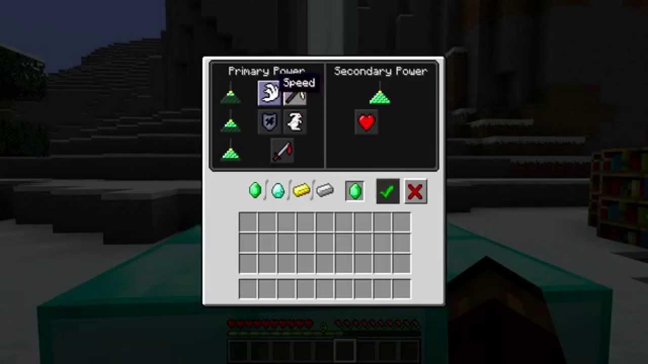 Маяк Minecraft Wiki 50