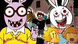 ARTHUR'S NIGHTMARE FULL GAME GAMEPLAY | Arthur's Nightmare ENDING (CARTOON HORROR) Arthur Games #2