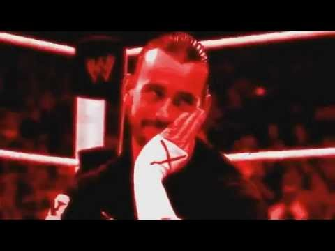 WWE Cm Punk theme song 2012 Cult Of Personality + titantron...