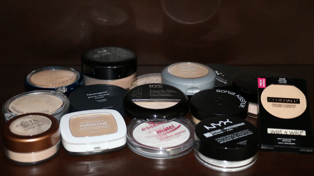 Best Drugstore Face Powders