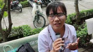 Đoàn trường THPT Trần Phú - Phóng sự 5 phút về kì thi giữa kì