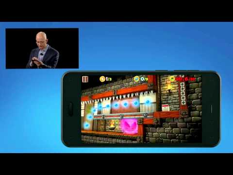 Jeff Bezos introduces Dynamic Perspective on the Amazon Fire Phone
