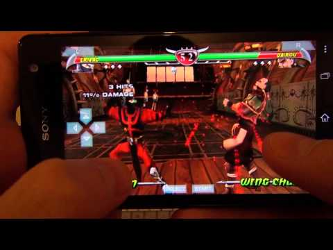 Mortal Kombat Unchained on Sony Xperia TX (PPSSPP