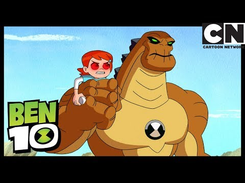 Ben 10 | Hex Mind-Controls Gwen and Granpa Max | Show Don't Tell | Cartoon Network