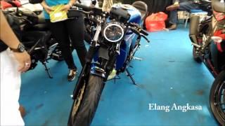 Suzuki GSX R150 độ cafe racer