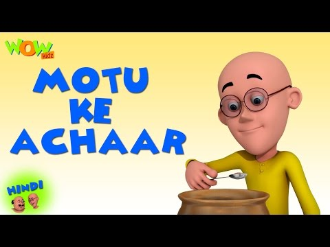 Motu Ke Achaar | Motu Patlu in Hindi | 3D Animation Cartoon for Kids | As on Nickelodeon thumbnail