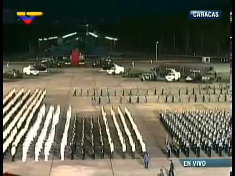 Presidente Maduro entrega Sables de Mando en Graduación Conjunta de Oficiales de Comando 2013