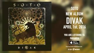 "SOTO (Jeff Scott Soto) - ""Paranoia""の試聴音源を公開 新譜「Divak」日本盤 2016年4月1日発売予定から thm Music info Clip"