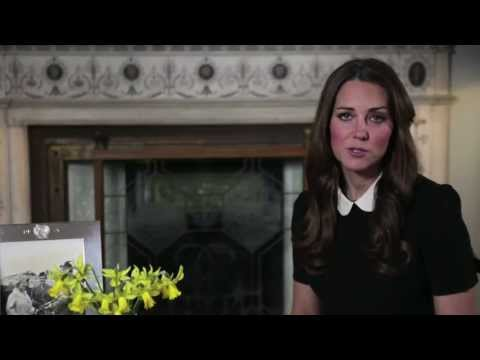 A video message by The Duchess of Cambridge to support Children's Hospice Week