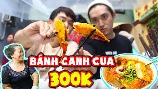 Phản ứng người Hàn lần đầu ăn Bánh Canh Cua 300k ???