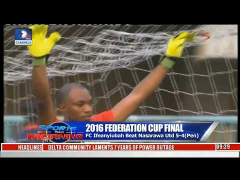 Sports This Morning: Rivers Angels Beat Bayelsa Queens To Clinch Federation Cup