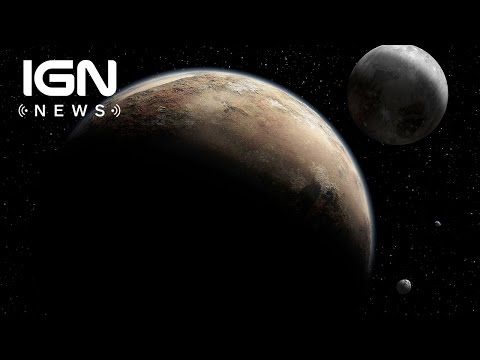 NASA Releases Photos of Pluto's Ice-Covered Mountains - IGN News