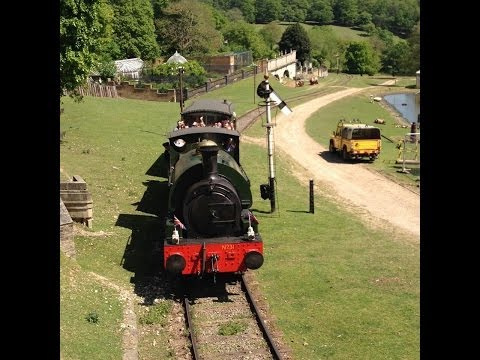 FullHD Fawley Hill Railway 18th May 2014