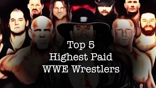 Top 5 Highest Paid WWE Wrestlers 2017 | Salary of WWE Superstars