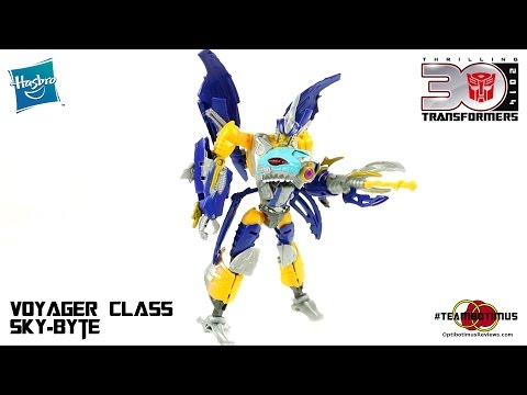 Video Review of the Transformers Generations: Voyager Class Sky-Byte