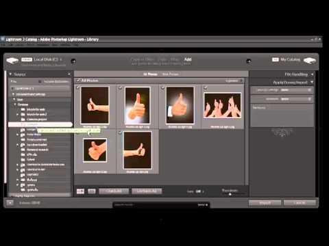 การใส่ keyword ให้รูปภาพด้วยโปรแกรม Lightroom